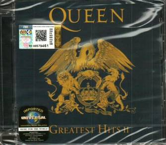 IMPORTED CD Queen Greatest Hits II