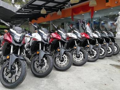 Honda CB500X 19 Free Gift Items With Exhaust