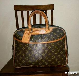 Handbag Monogram Louis Vuitton Deauville - Defect