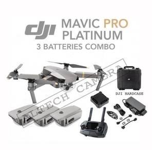 NEW DJI Mavic Pro Platinum 3 Batteries Combo