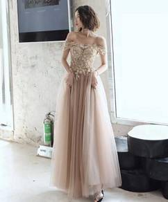 Nude wedding evening prom dress gown RBP1128