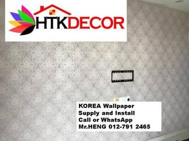 PVC Vinyl Wall Paper for various environment 279DH