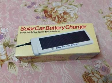Solar car battery charger made in japan