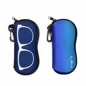 Neoprene Zipper Eyeglass Case