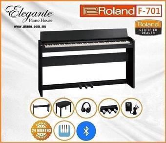 Roland F-701 Bk/Wh SuperNATURAL Digital Piano