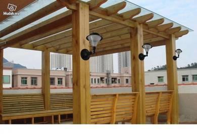 Garden Wall Solar Light With 24 LEDs