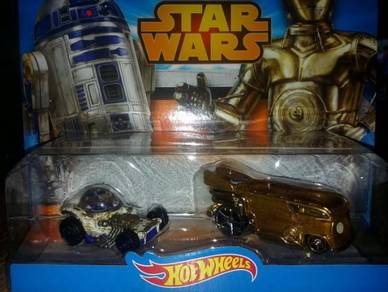 Hotwheel Star Wars C3P0 & R2D2 Character Car