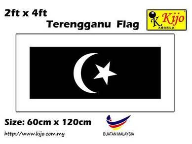 60cm X 120cm Terengganu Flag