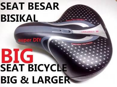 Bike Bicycle Big Soft Saddle Seat Cushion Besar