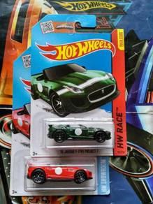 Hotwheels Jaguar F-Type Project 7 Set