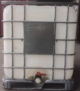 Used IBC Tank - 1000L (Metal / Plastic Pallet)