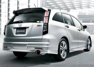Honda stream modulo spoiler with paint bodykit 08