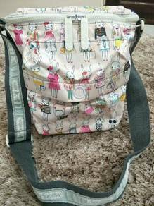 Authentic Lesportsac Limited Edition Messenger Bag