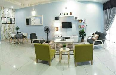 IKEA Deco Homestay Manjung Point (4bilik ) Aircond