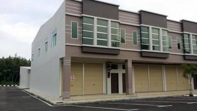 New Ground Floor Shop Office at Pusat Perniagaan Serom 2, Muar, Johor