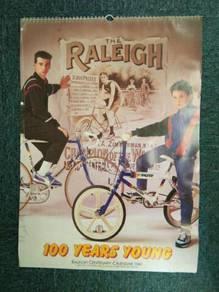 Kalendar Raleigh tahun 1987