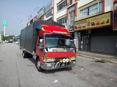 Services lori pindah barang sentiasa on call