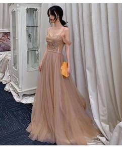 Nude wedding evening prom dress gown RBP1130