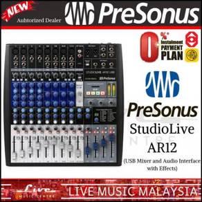PreSonus StudioLive AR12 Mixer & Interface (AR-12)