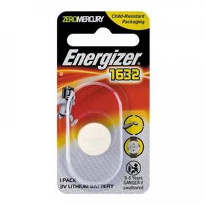 Energizer CR1632 Button Cell 3V Lithium Battery