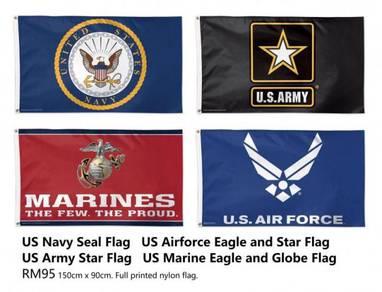 US Army Airforce Navy Marine Flag