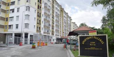 Villamas Apartment, Kapar for Sale