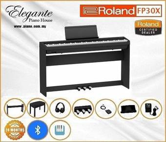 Roland FP30x Bk/Wh Digital Piano