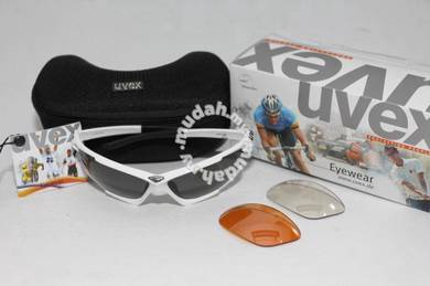 Uvex Hawk Polar sunglasses - 3 lenses