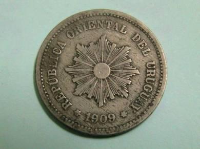 Uruguay 5 Centemos 1909 (Kod : A1514)