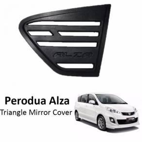 Rear triangle mirror cover