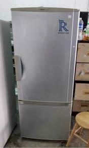 National 2 doors fridge PetiSejuk Ais Refrigerator