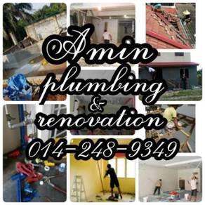 Nilai service piping/bumbung bocor