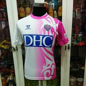 Warrior Sagantosu J League DHC White Pink T Shirt