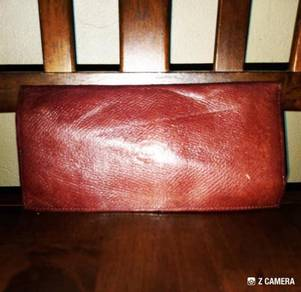 Long Wallet Leather Audi West Germany