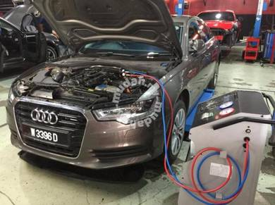 Audi a6 a8 hybrid engine service or air-cond redo