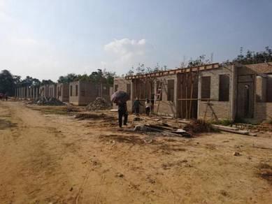 Rumah Berkembar Jenis Kluster Projek Ayer Lanas 1