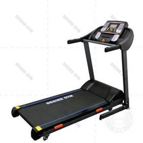 3.0hp motorized treadmill with auto incline