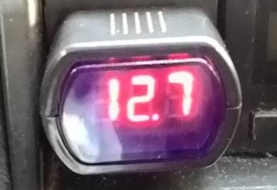 Car Battery Meter