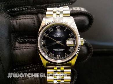 PREOWNED ROLEX Datejust 36, 16234 Rolesor, 36mm,