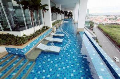 Fks bm city swimming pool homestay