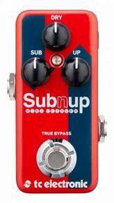 TC Electronic Sub N Up Mini Octaver Guitar Pedal