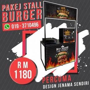 Pakej Stall Burger Mudah Alih TERBAIK!