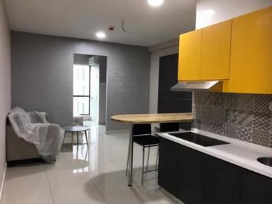 KL Jln Ampang Studio-1CP,F/furnished,Can cook,Intermediate&Corner
