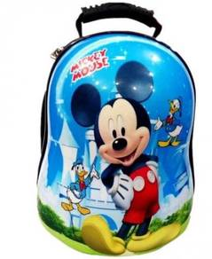 Cartoon Hard Case Shell School / Casual Backpack M