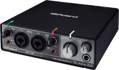 Roland Rubix 22 2-In/2-Out Guitar Audio Interface