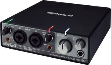 ROLAND Rubix-22 - 2-In/2-Out GuitarAudio Interface