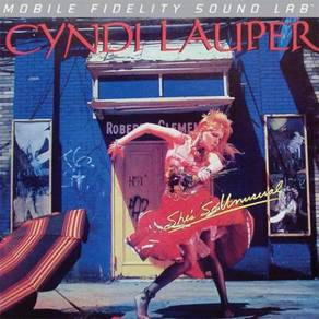 Cyndi Lauper She's So Unusual Numbered Limited Edi