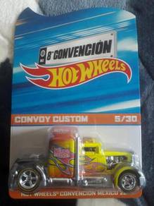 Hotwheels custom convoy mexico convention 2015