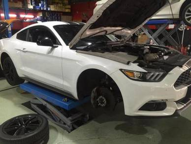 Mustang 5.0 exhaust system and remap system
