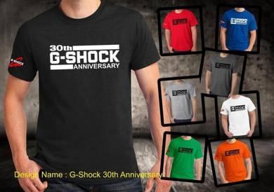 Baju T-Shirt G-SHOCK 14 NSQ227 siap poslaju